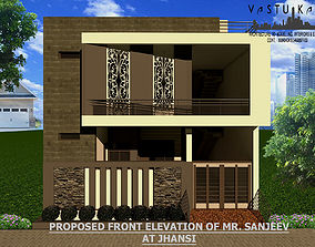 Home Front Elevation 3D