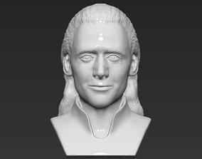 Loki bust 3D printing ready stl obj formats