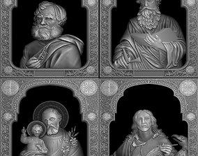 Saints collection - V02 3D print model