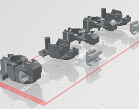 3D printable model MG GUNDAM v1-5 Foot joint