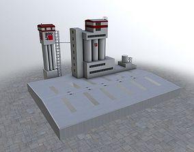 Prague Factory2 3D asset