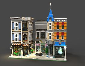 Lego Area 3D asset