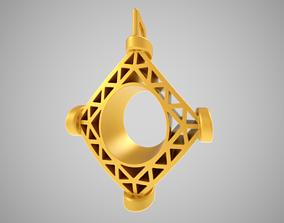 Tribal Amulet 3D print model