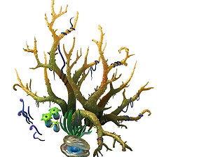 Game Model - Variation of the Celestial Coral 01 3D
