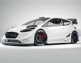3D FORD fiesta WRC 2020