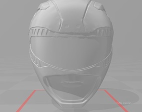 mighty Power rangers 3d file Helmet Red ranger