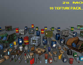 watertank material and assets low-poly