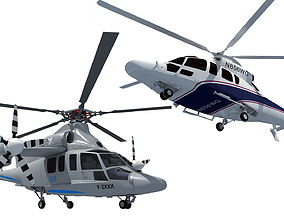 3D Helicopter Models aircraft