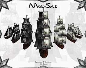 3D asset Micro-Sails