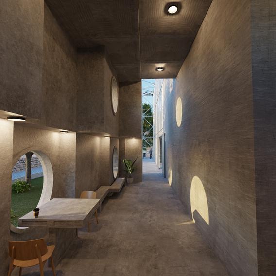 Architecture project - Interior