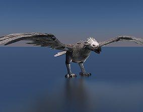 3D Argentavis Bird Dinosaur