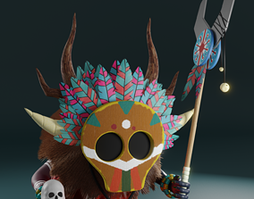 3D model Shaman