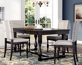 Dresden Dining Set 3D