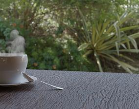 Coffee hot 3D model
