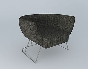 Pillow Tub Chair 3D model