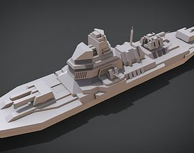 3D printable model Anti-ship Destroyer