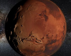 3D model MARS MOONS 8K