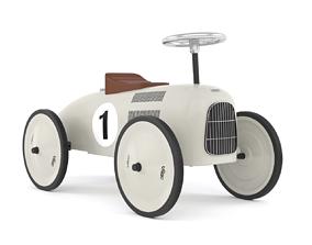 Retro Push Car 3D model