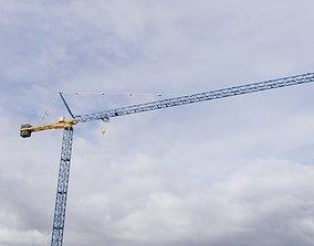 Construction Crane 2 - Hammerhead Tower 3D
