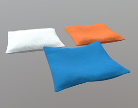 3D asset game-ready Pillow