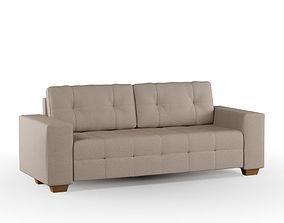 3D Beige Sofa beige