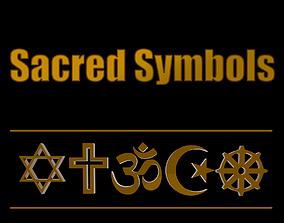 Sacred Symbols 3D model