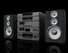 3D Hi-Fi multi component audio system
