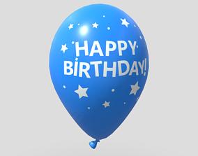 Balloon 3 3D asset