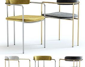 West Elm Lenox Dining Chair 3D