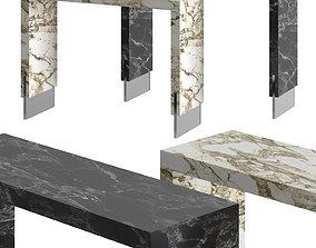 Pasut Design Porta Romana Console Tables 3D