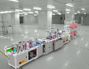 industrial 3D mask production machine