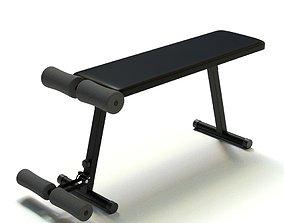 Weight Bench 3D training