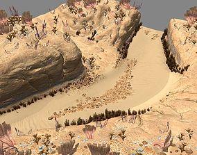 Desert planet glise 3D model