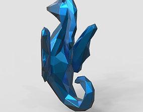 Sea Horse - Ocean Charm 3D Model - Hippocampus Printing