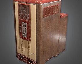 3D asset DKO - Furnace Art Deco - PBR Game Ready