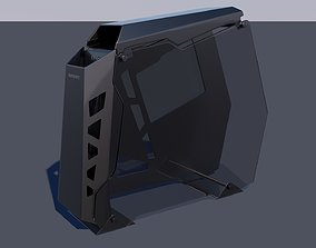 3D model game-ready PC computer Cougar conquer