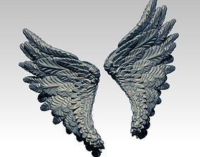 Angle Bird Wing High detailed 3D print model