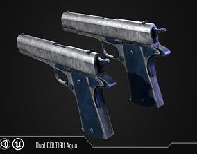 3D model COLT1911 Aqua
