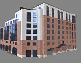 3D model 8 Mission Street Building San Francisco