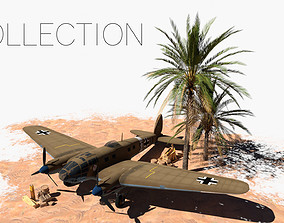 3D WW2 Afrika Korps Assets