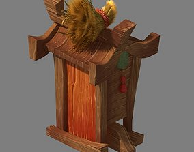 Dynasty City - street sign 3D model