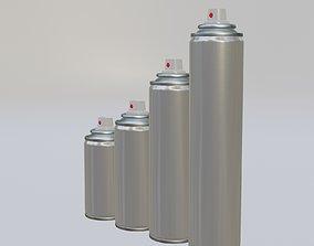 3D model Spray can diameter 45mm