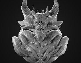Demon Lord bust 3D Print
