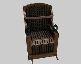 3D Iron Chair Torture Device