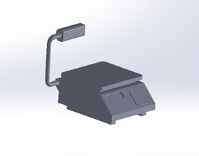 3D printable model detailed scales