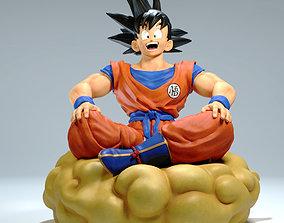 3D print model Goku statue