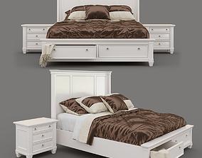 Prentice bed 3D