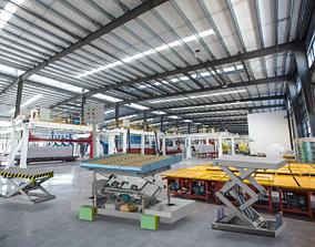 Scissor lifting platform machine Assembly 3D