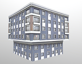 Architectural Building 3D asset