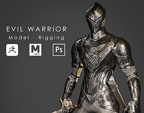 Evil Warrior - Ready to Game 3D model